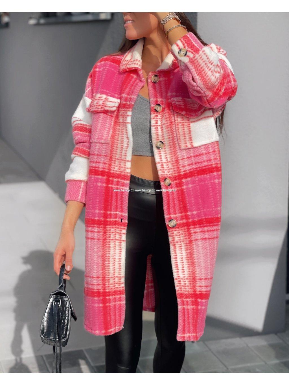 Vzorovaný kabát PINKY