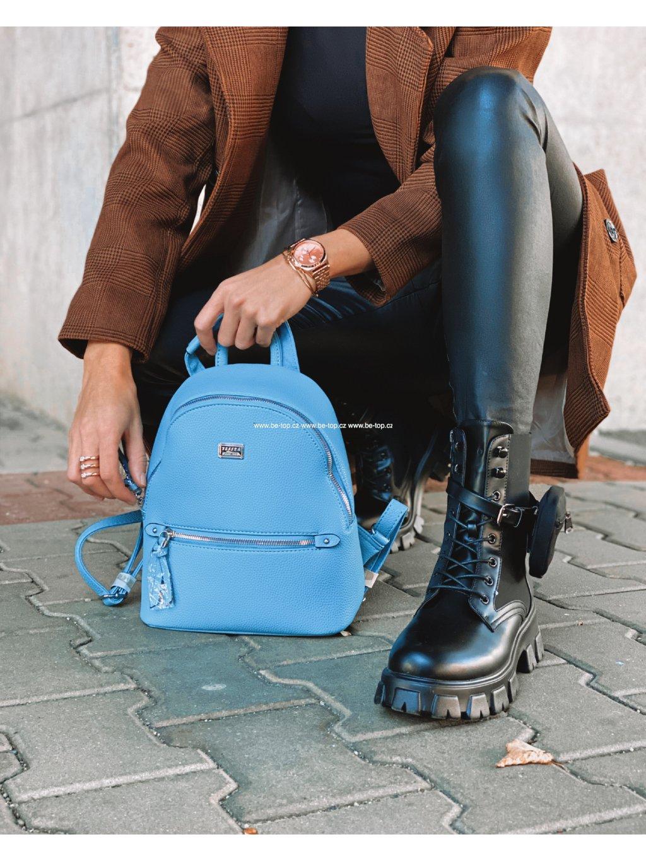 Tyrkysový batoh TESS