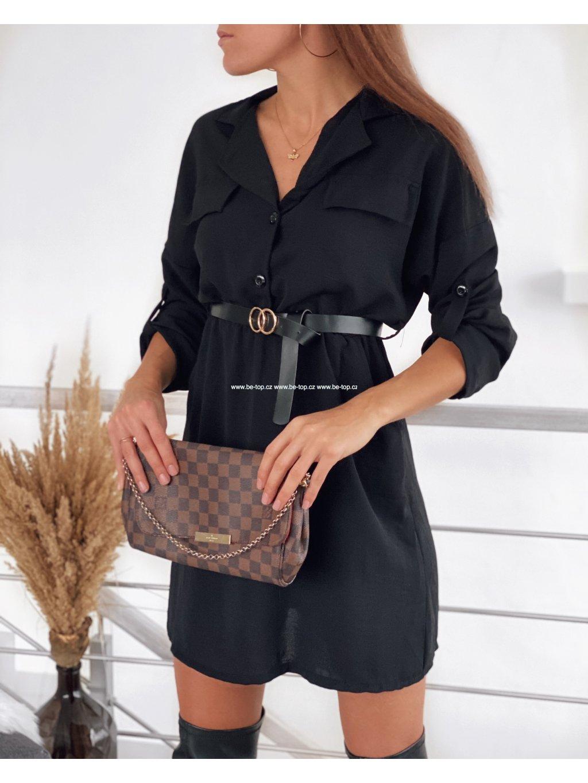Košilové šaty LAURA