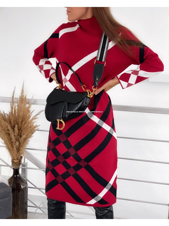 Dlouhé svetrové šaty NAPOLI