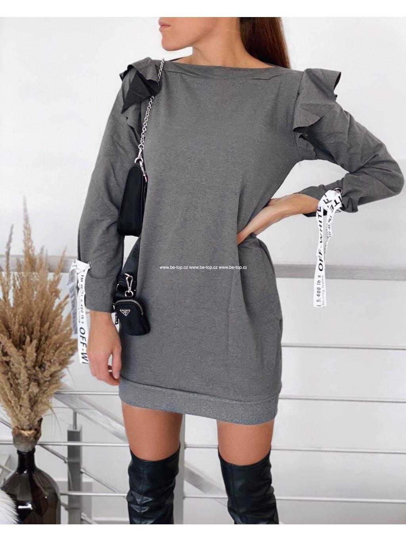 Mikinové šaty OFF