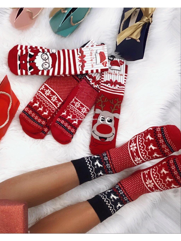Vánoční ponožky v dárkovém balení