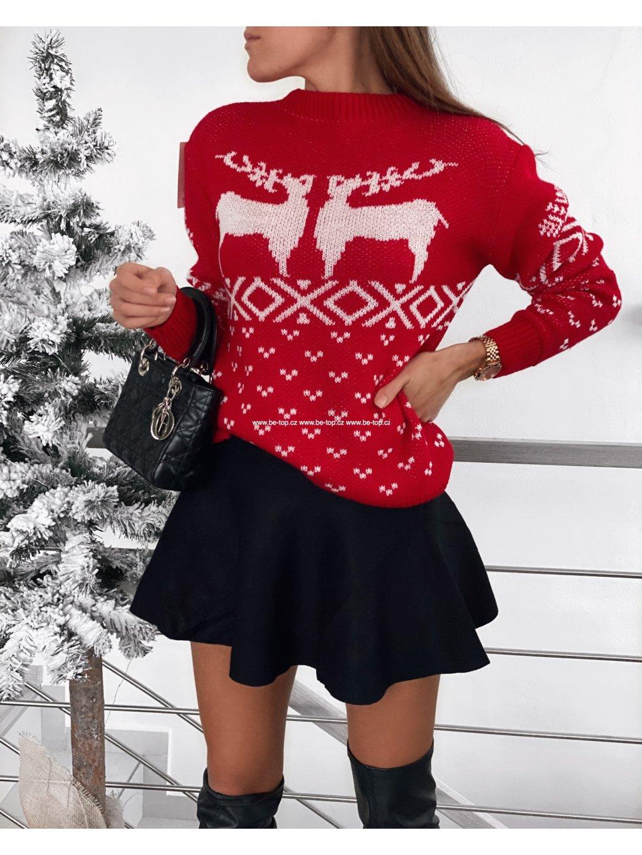 Vánoční svetr DEER