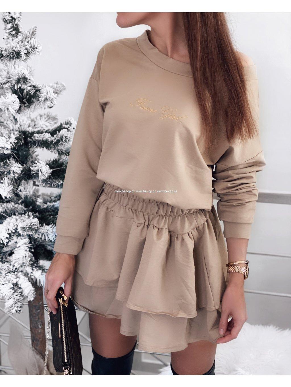 Pohodlné šaty FAME