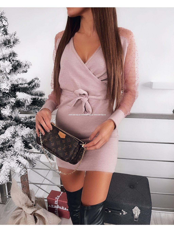 Šaty s dlouhým rukávem LADY