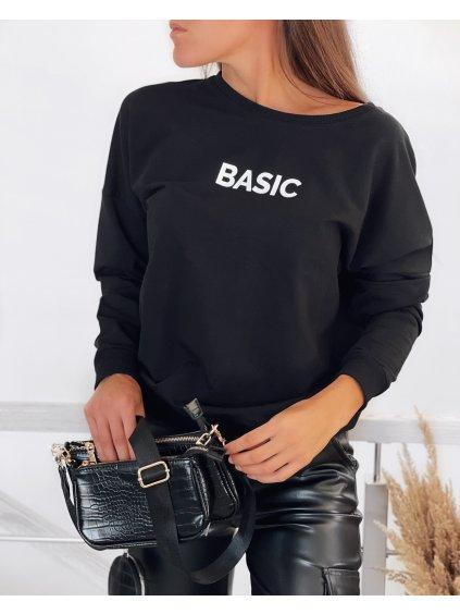 Černá mikina BASIC