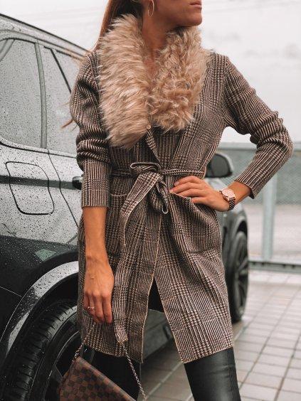 Kabátek s kožichem AMY
