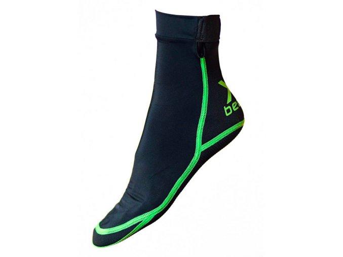 Plážové ponožky Xbeach Černé