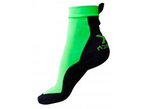 Plážové ponožky Xbeach Zelené