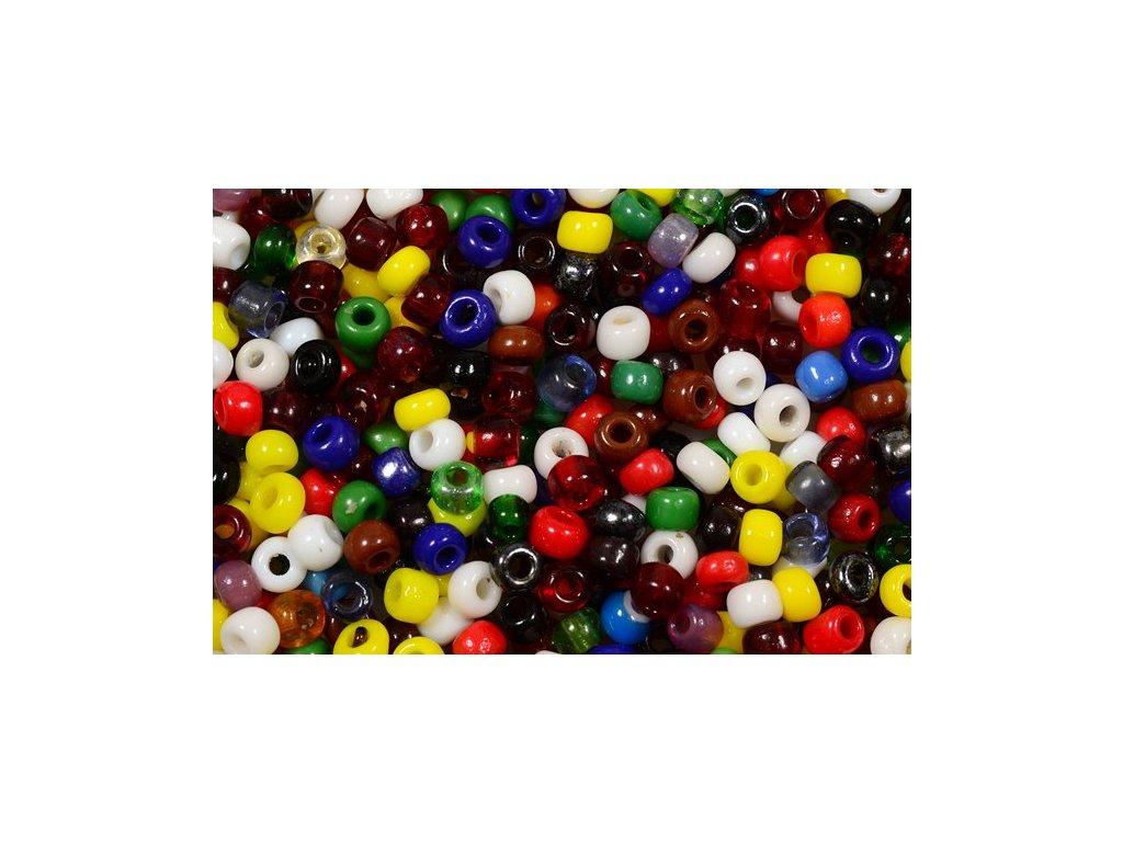 Seed beads 7/0 mix II