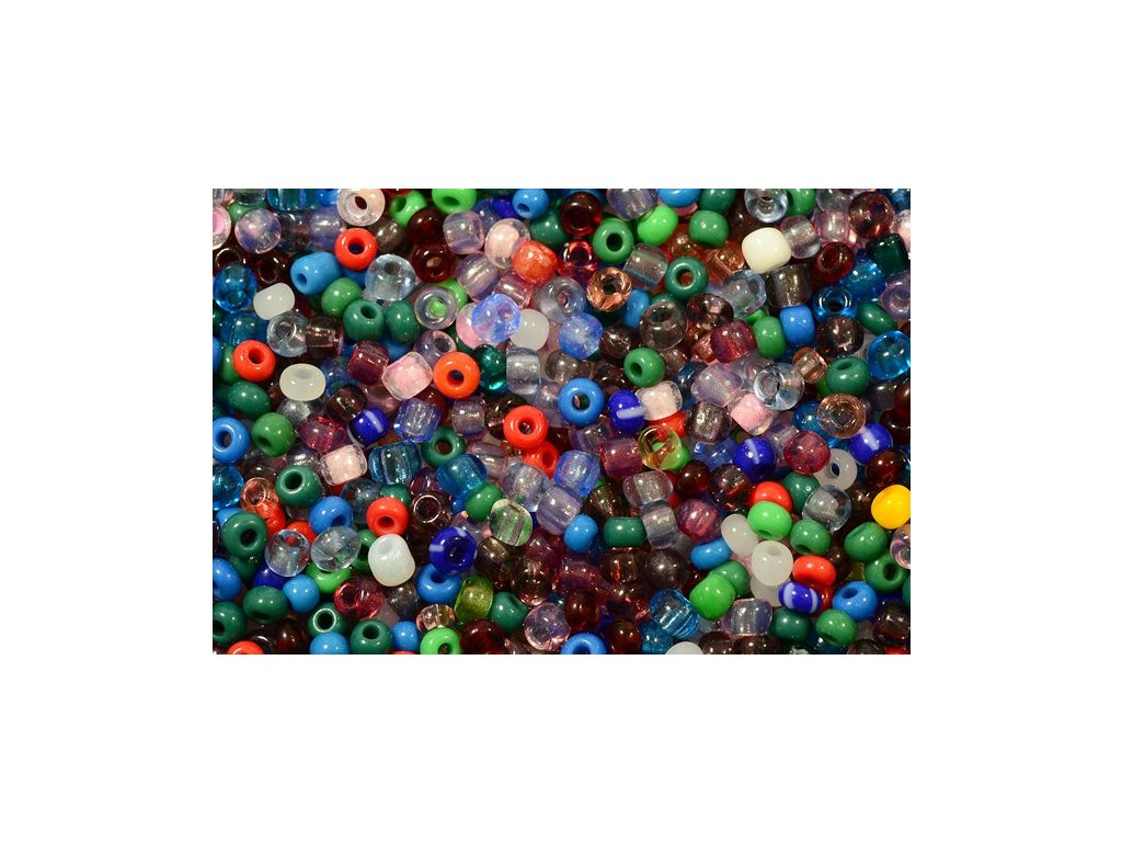 Seed beads 8/0 mix I