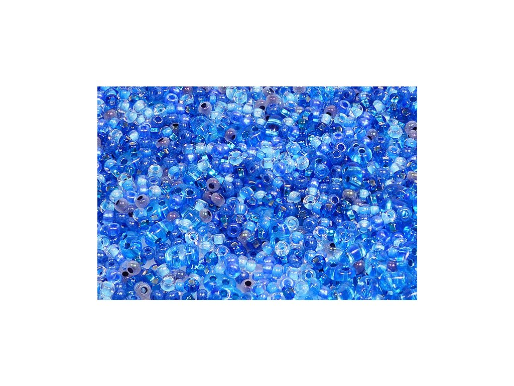 Seed beads mix - blue