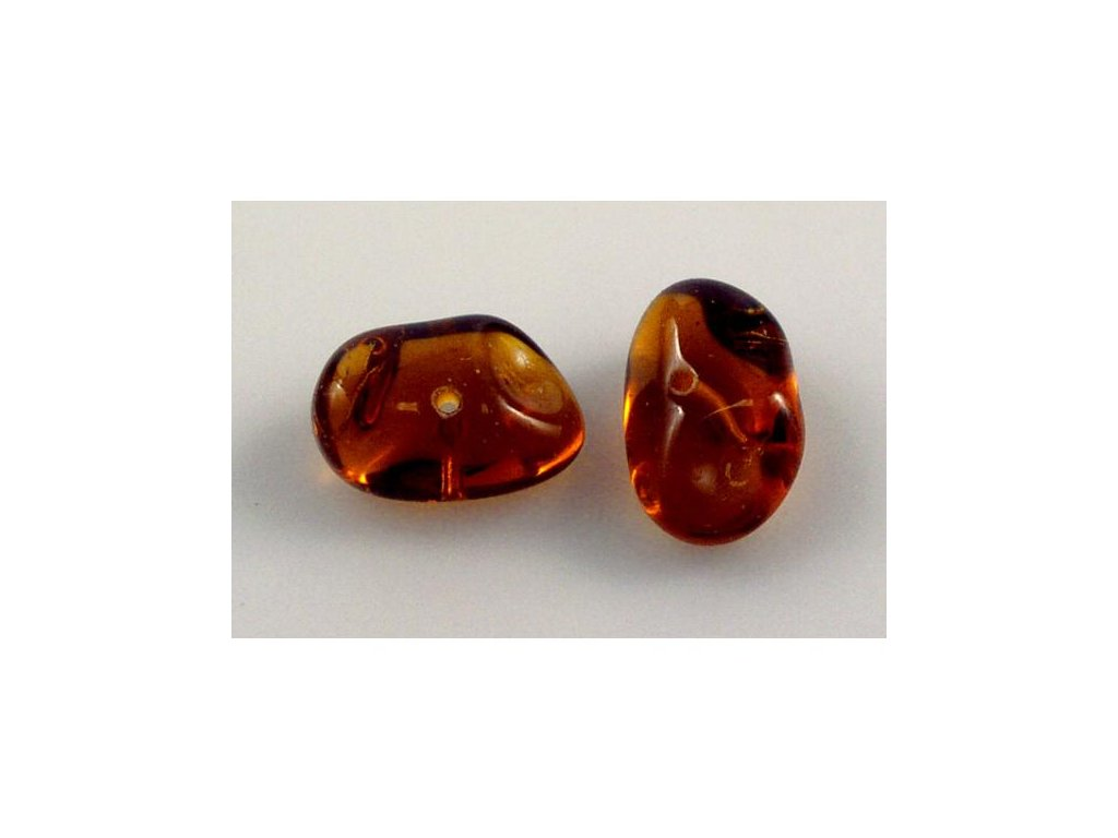 Shaped pressed bead 11100056 10x18 mm 10090