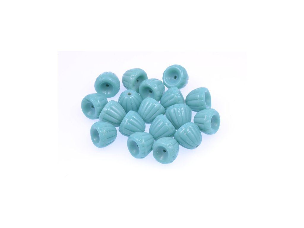 shaped pressed beads 11100080 8x9 mm 63130