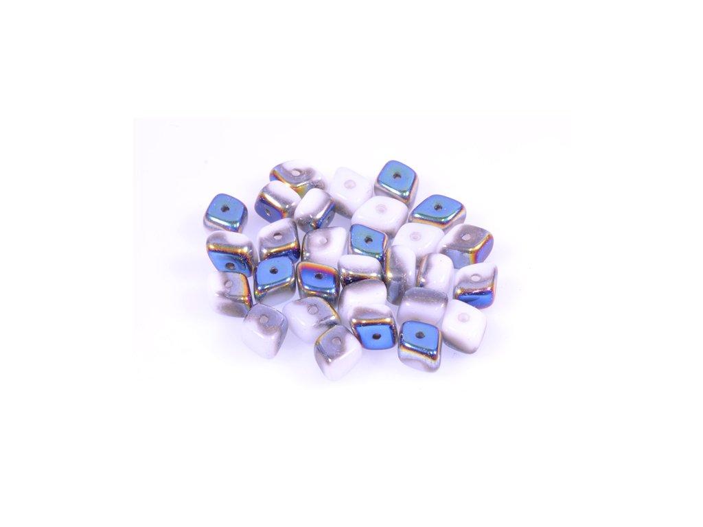 shaped pressed glass bead 11100104 5x9 mm 03000/28101
