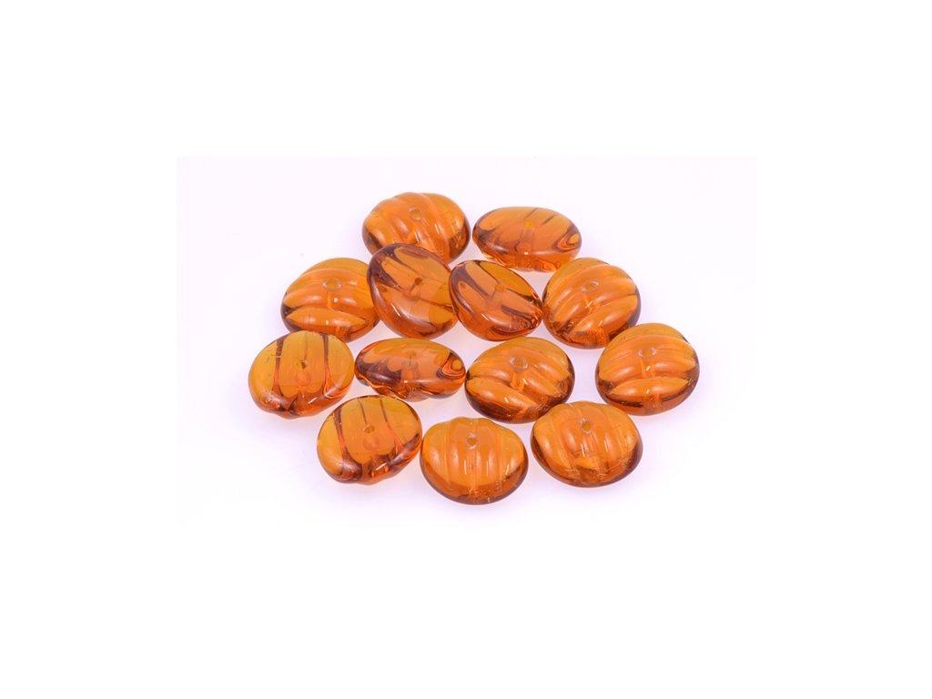 Shaped pressed bead 11100137 6x13 mm 10080