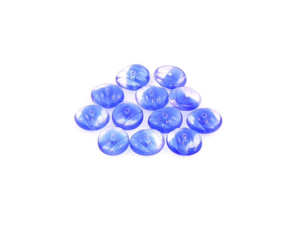 Shaped pressed bead 11100137 6x13 mm 37008