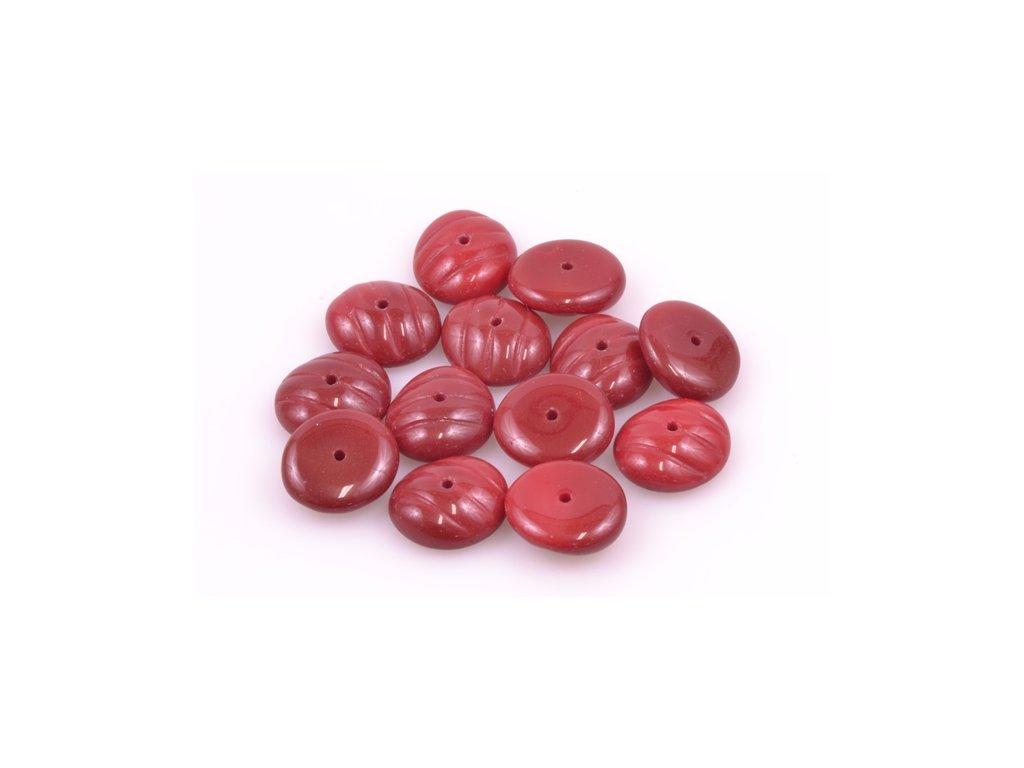 Shaped pressed bead 11100137 6x13 mm 93220
