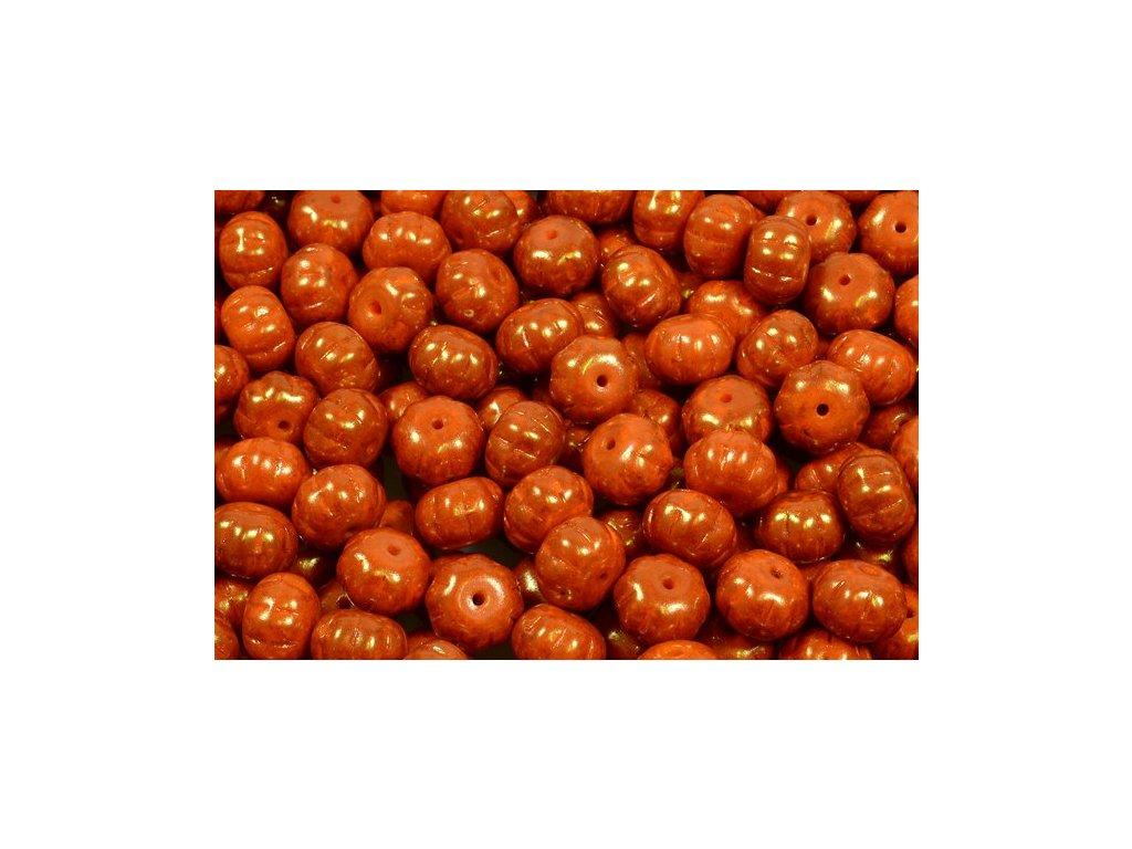 Pumpkin beads 11100206 8x11 mm 93130/15495