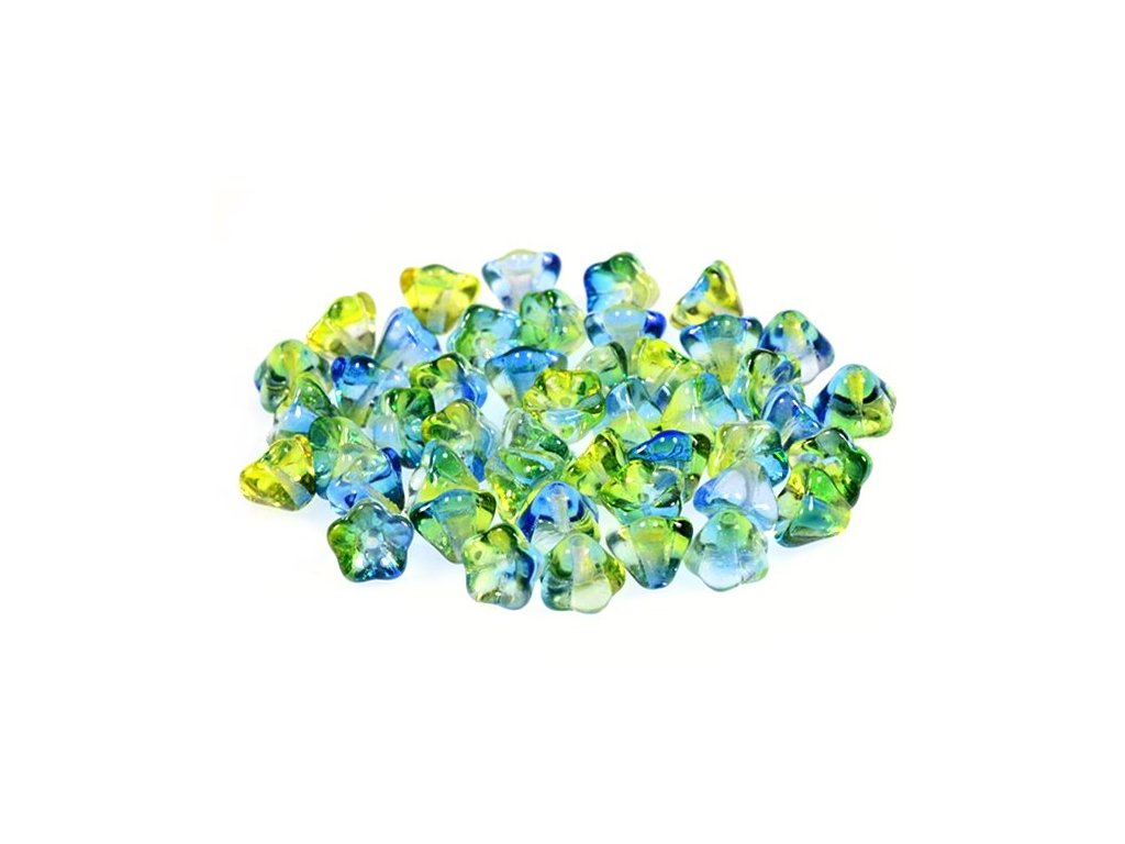 Bell flowers 11100240 6x8 mm 00030/48011