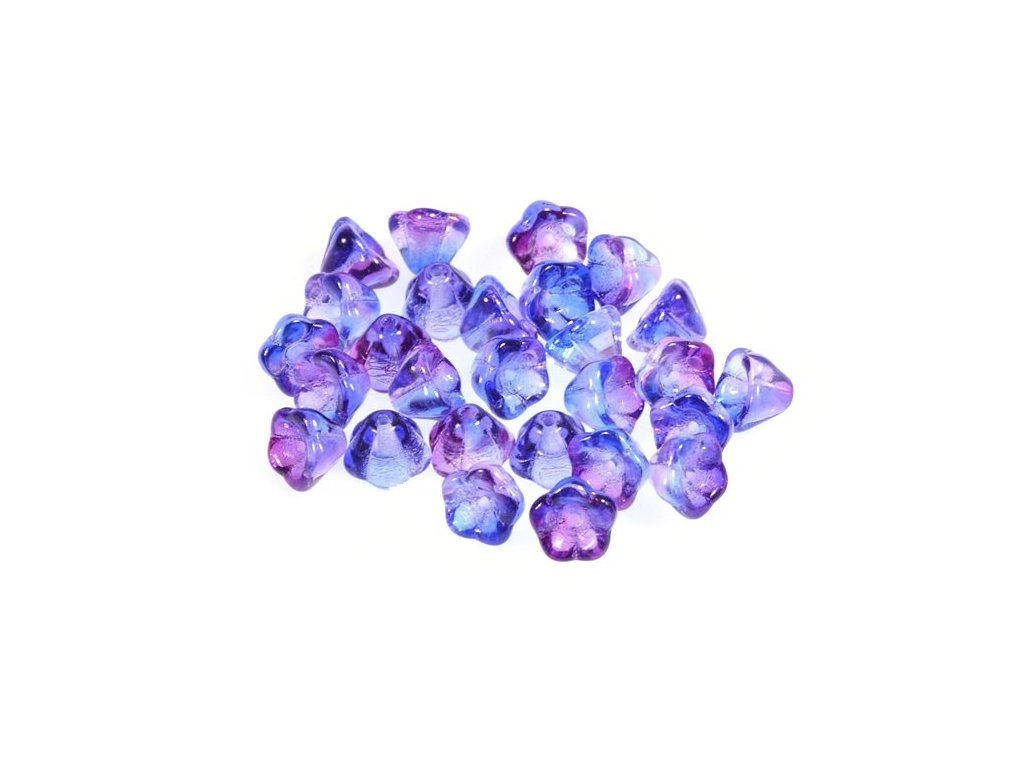 Bell flowers 11100240 6x8 mm 00030/48686