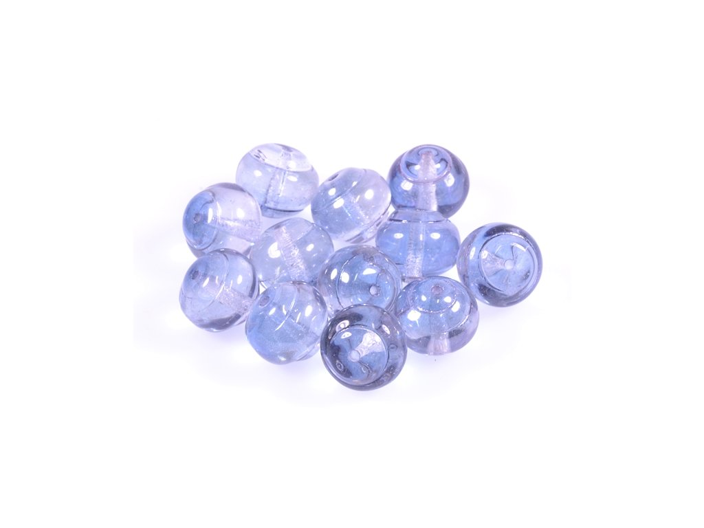 Shaped pressed glass bead 11100242 12 mm 00030/14264