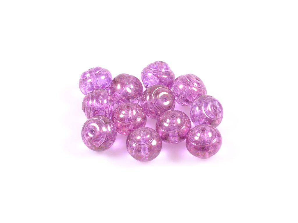 Shaped pressed glass bead 11100242 12 mm 00030/15423