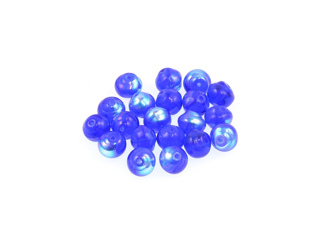 Shaped pressed glass bead 11100242 8 mm 30060/28701