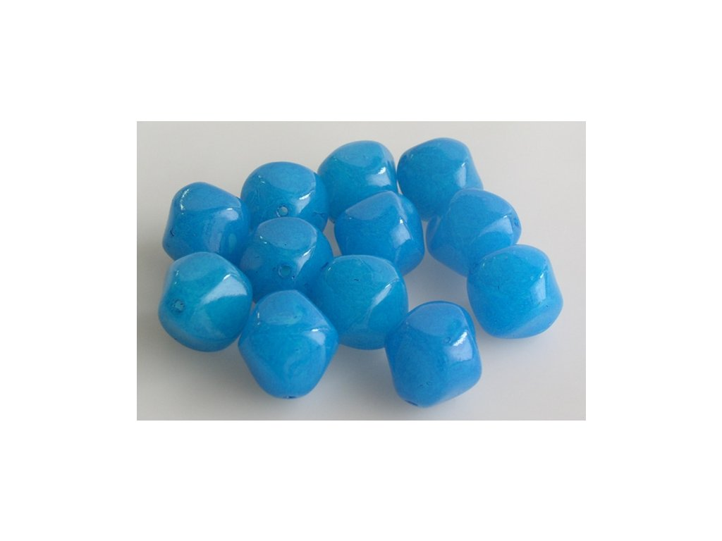 Shaped pressed glass bead 11100273 17 mm 03000/10016
