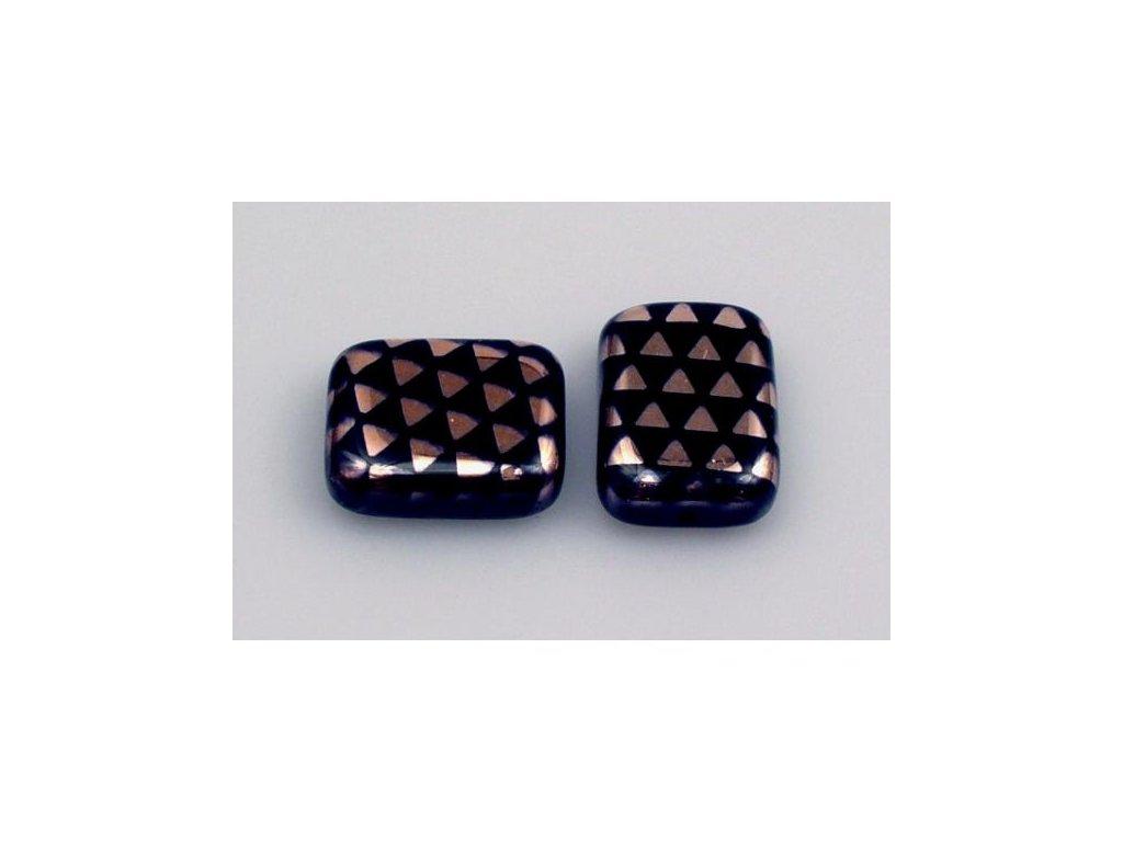 Shaped pressed bead 11101074 20x15 mm 23980/271096