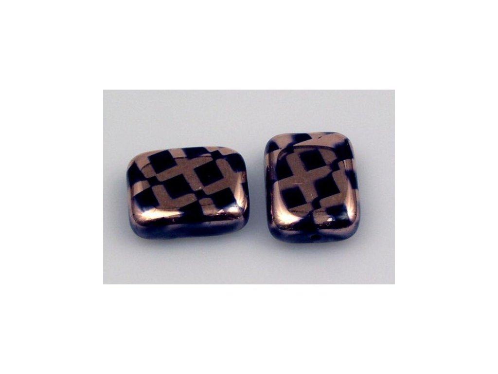 Shaped pressed bead 11101074 20x15 mm 23980/271097