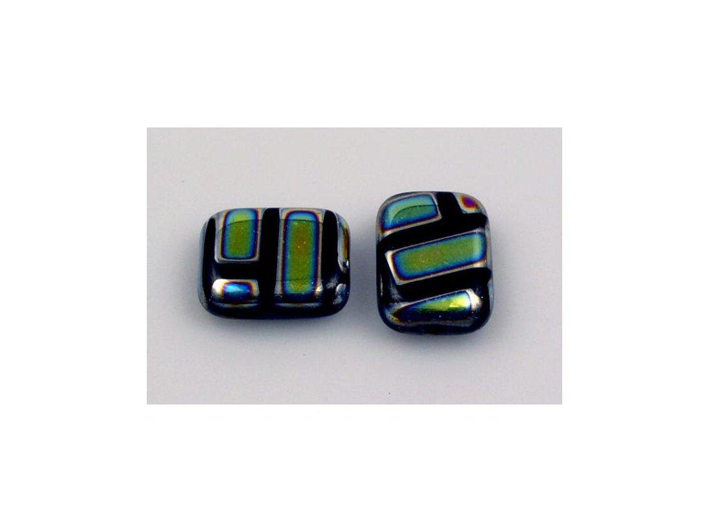 Shaped pressed bead 11101074 20x15 mm 23980/281099
