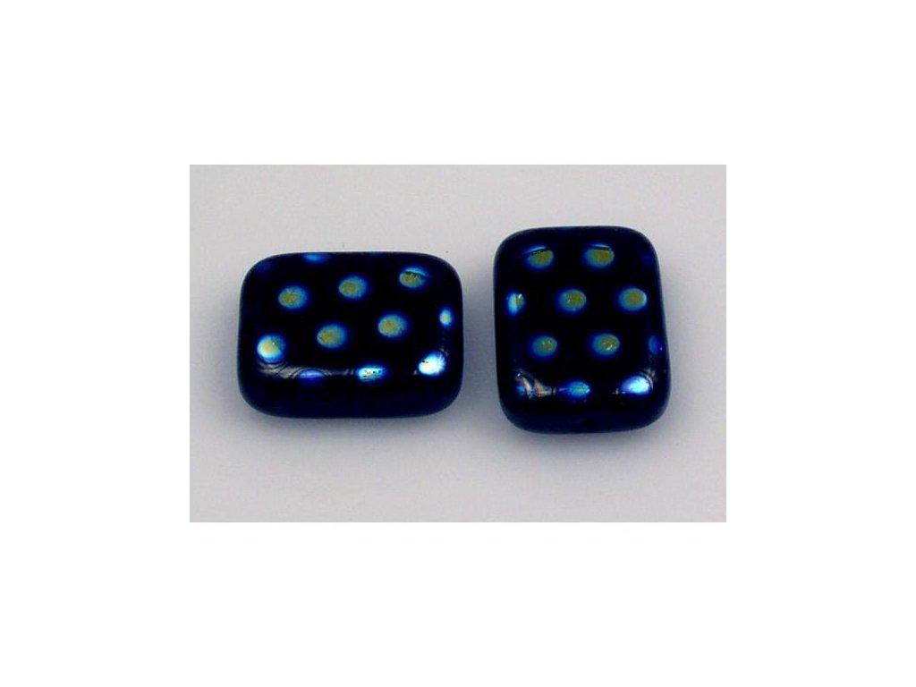 Shaped pressed bead 11101074 20x15 mm 23980/28707