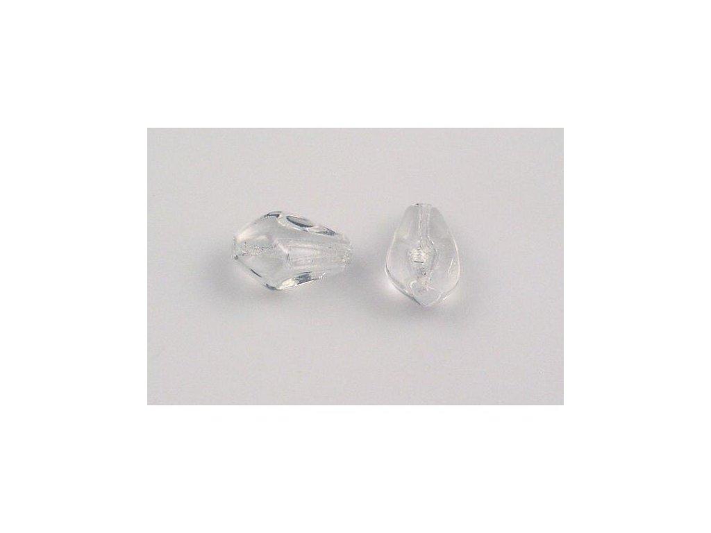 Shaped pressed bead 11101313 15x10 mm 00030
