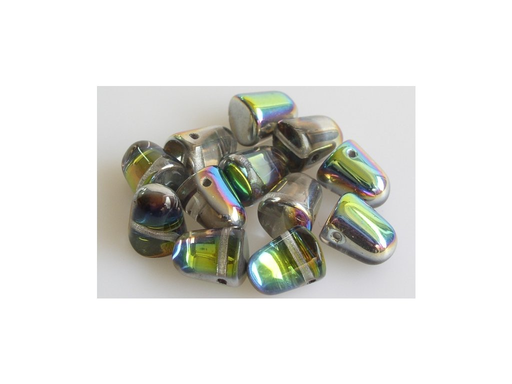 Shaped pressed bead 11101333 8x10 mm 00030/28137
