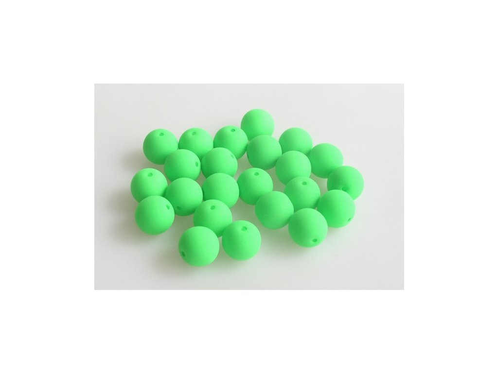 Round pressed bead NEON 8 mm 02010/25124