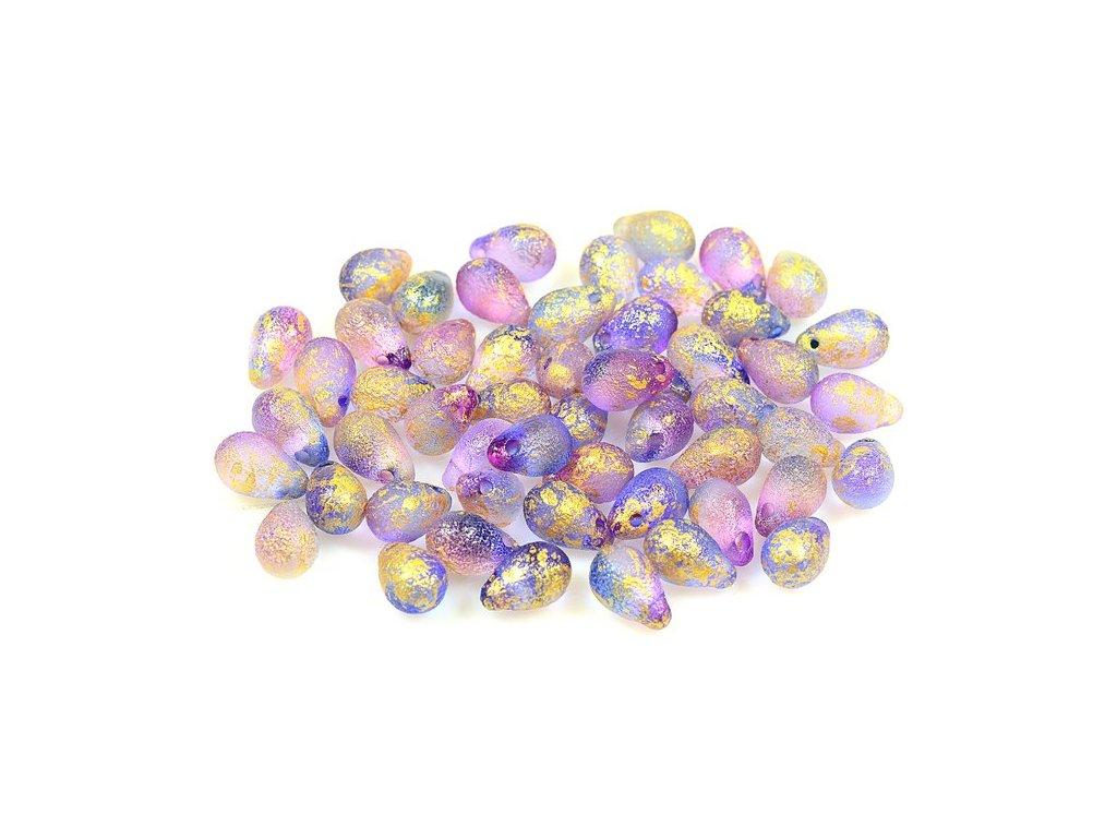 Glass beads tears 11169004 6x9 mm 48002/lept/56902