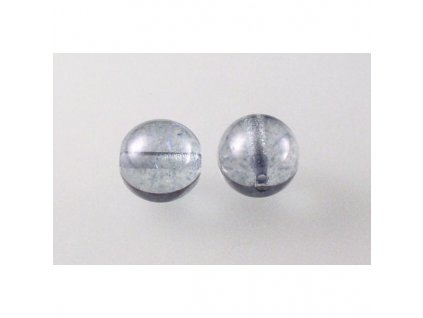 Round pressed glass bead 10 mm 00030/15464