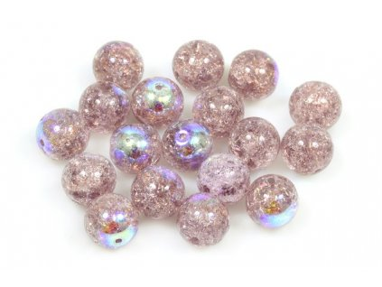 Crackled beads 10 mm 20020/85500/28701