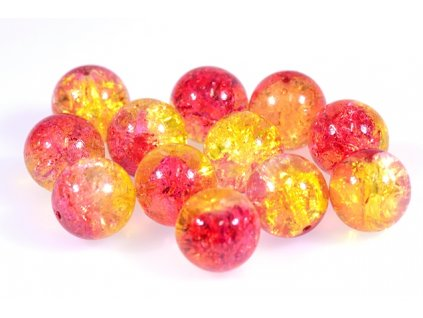 Crackled beads 11119001 14 mm 00030/85600