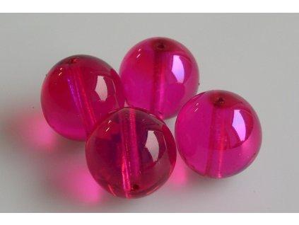 Round pressed glass bead 11119001 16 mm 00030/97776