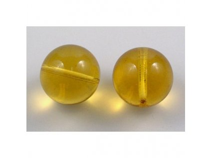 round pressed glass bead 20 mm 10020