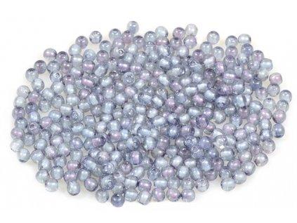 Round pressed glass beads 3 mm 00030/14464
