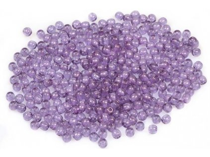 Round pressed glass beads 3 mm 00030/15726