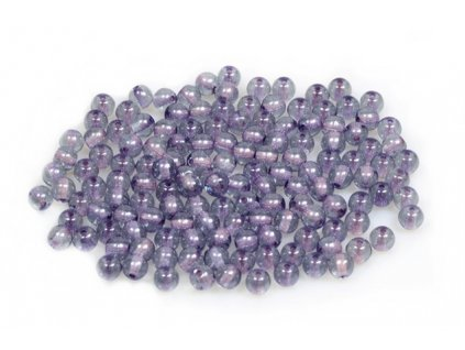 Round pressed glass beads 4 mm 00030/14464