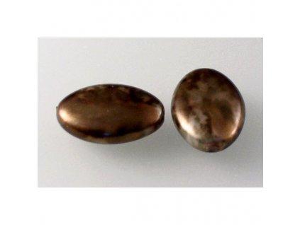 Imitation pearls 13230108 16x11 mm 84193