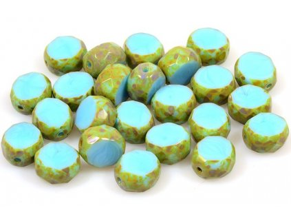 Faceted glass beads 15101198 10 mm 63020/86800