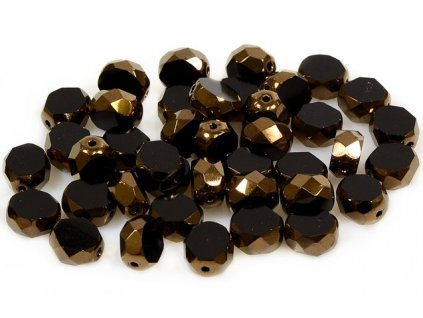 Faceted glass beads 15101198 8 mm 23980/14415