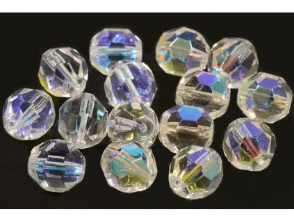 Faceted glass beads 15113601 12 mm 00030/28701
