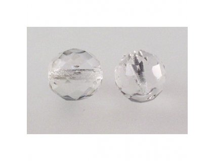 Fire polished glass bead 12 mm 00030